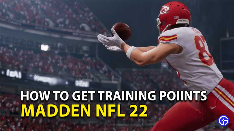 Madden NFL 22 Training Points