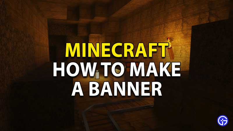 how to make a banner minecraft