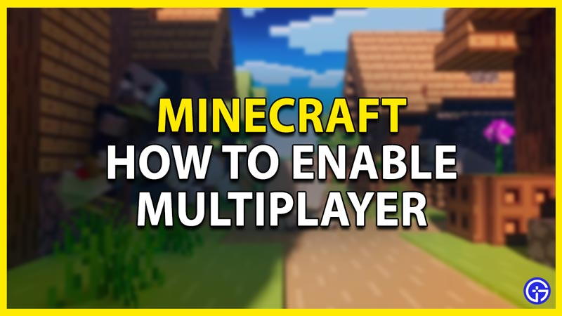multiplayer with friends in minecraft java edition