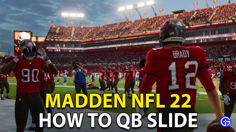 Madden NFL 22: How To QB Slide