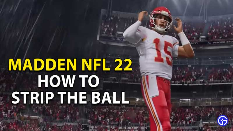 how to strip the ball madden 21 nfl