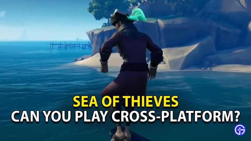 is sea of thieves cross platform