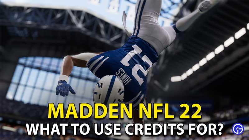 Madden NFL 22 Credits