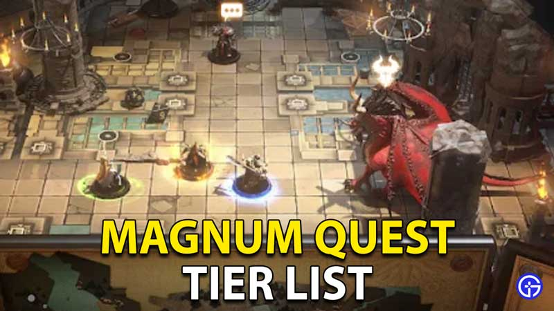 Magnum Quest Tier List
