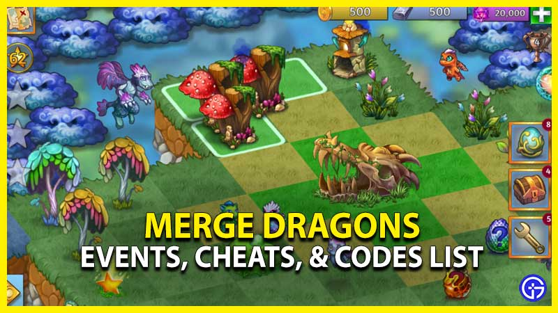 merge dragons events cheats codes list