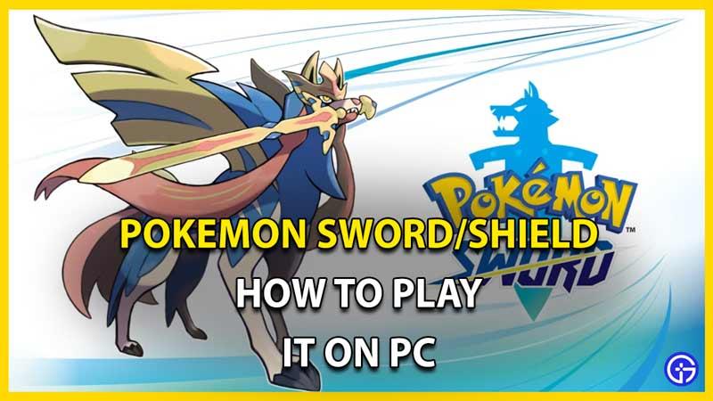pokemon sword shield on pc