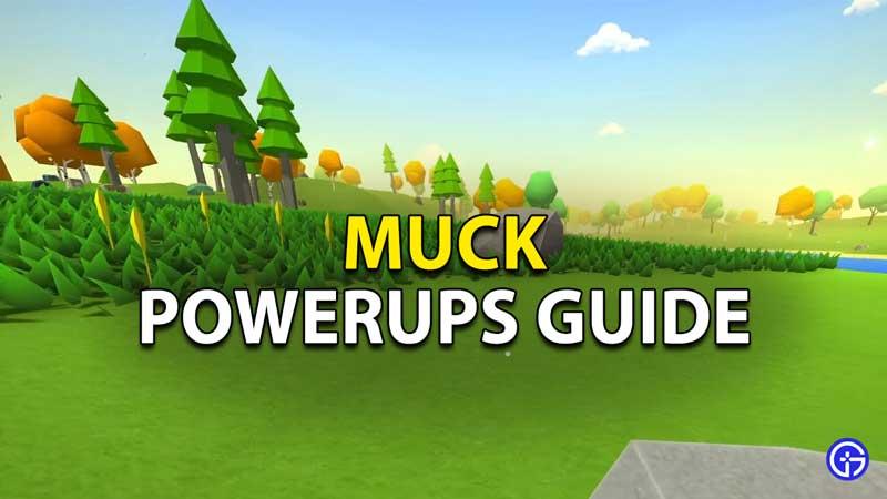 powerups guide muck