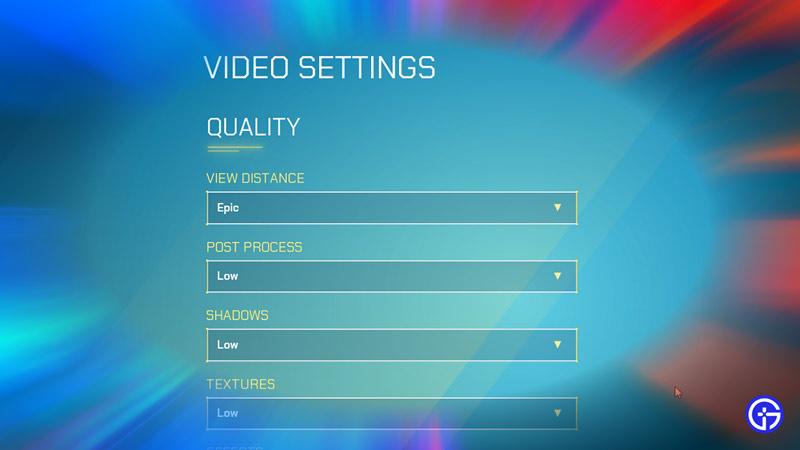 quality-settings