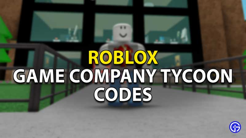 roblox game company tycoon codes