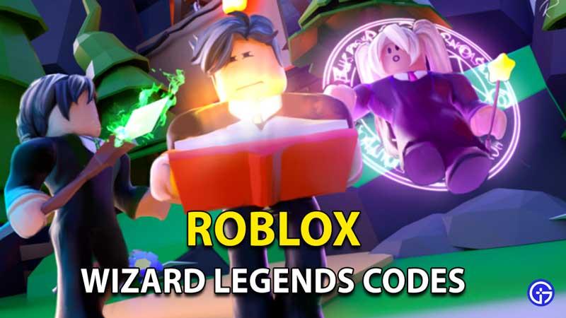Wizard Legends Codes Roblox