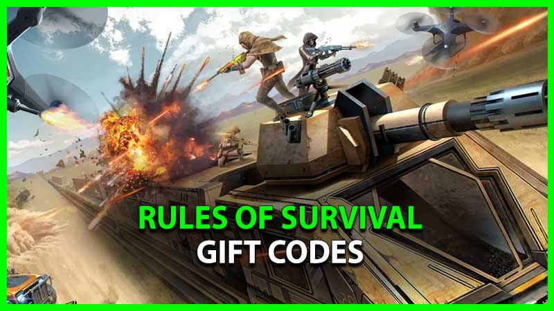 rules of survival gift code