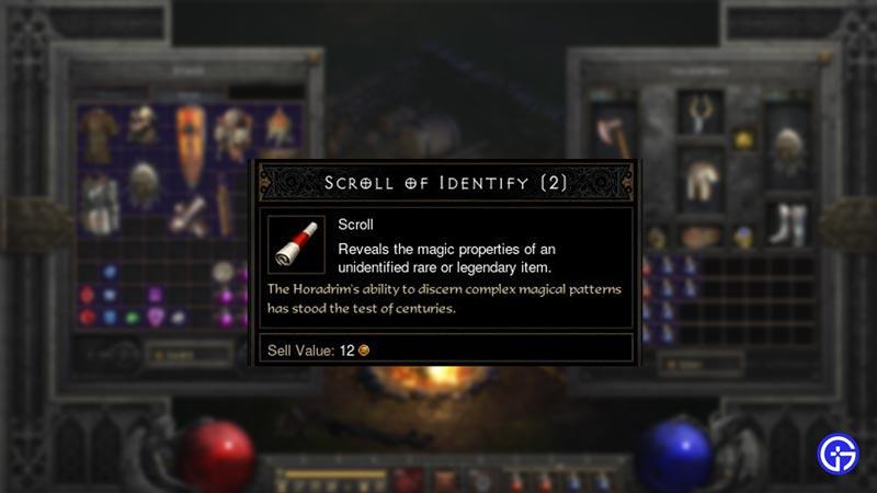 scroll of identify