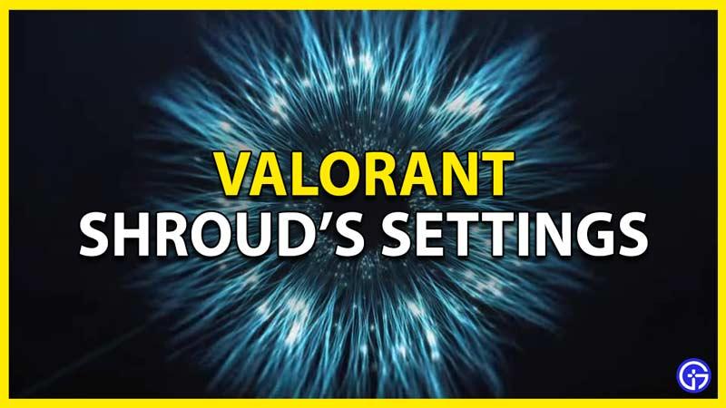 shroud valorant settings