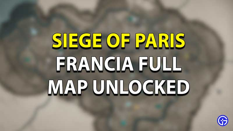 Francia Map Guide