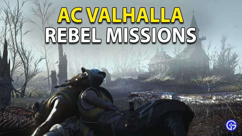 Assassin's Creed Valhalla: The Siege Of Paris Rebel Missions