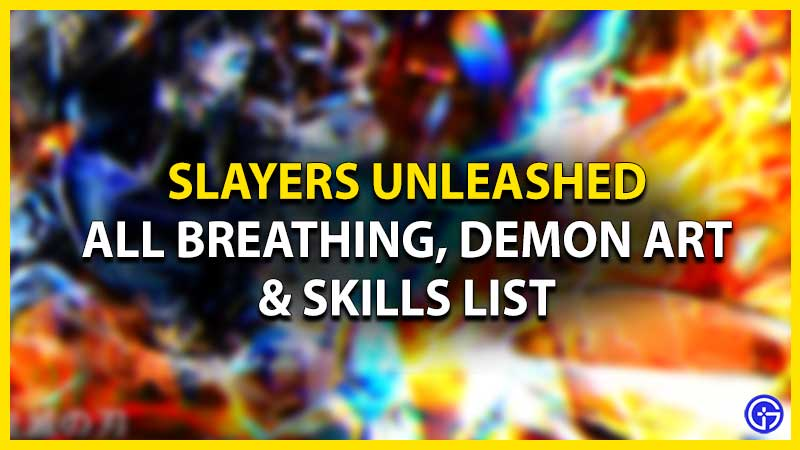 slayers unleashed breathing demon art rarity chance