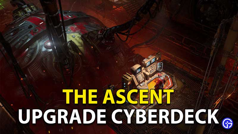 How to upgrade your Cyberdeck in The Ascent