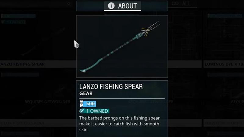Warframe Rare Fish On Plains Of Eidolon