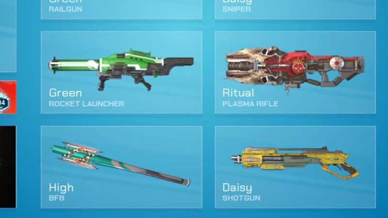 weapon skins splitgate