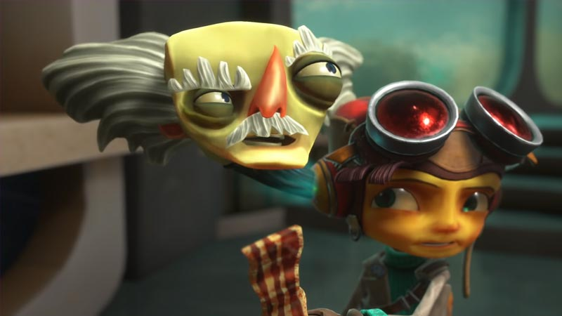 where to find and get bacon in Psychonauts 2