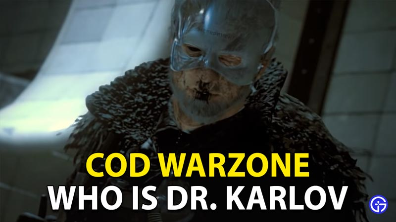 Warzone Dr. Karlov: Who Is This Call Of Duty (COD) Character