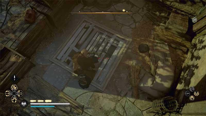 wretched scythe cellar