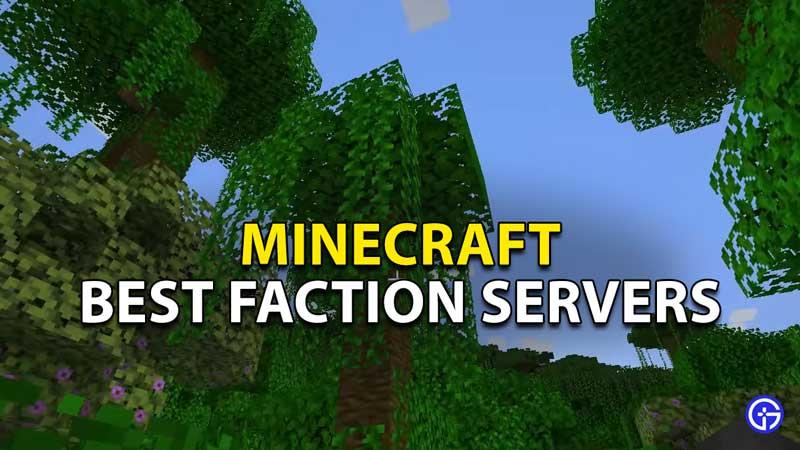 10 best minecraft faction servers