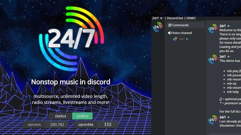 247 discord radio bot