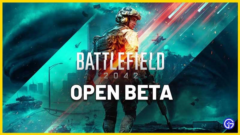 Battlefield 2042 Open Beta Release Date