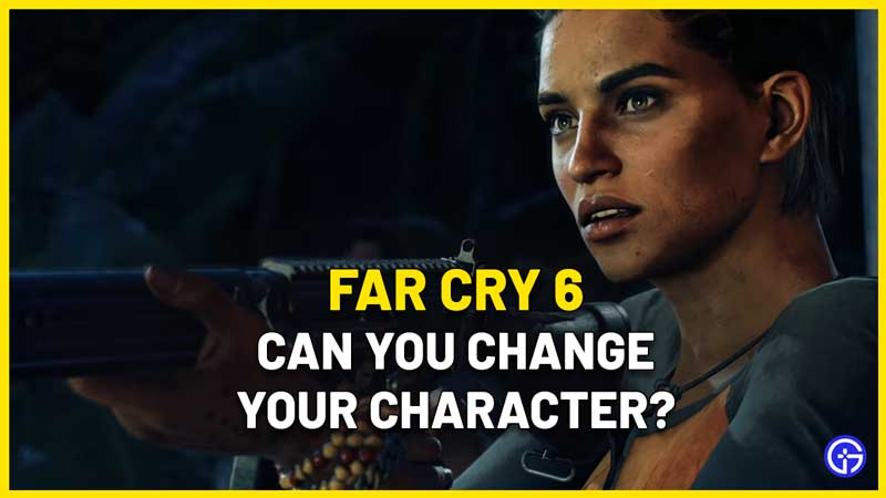 can you change character gender in far cry 6