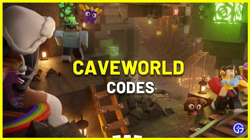 CaveWorld Codes Roblox