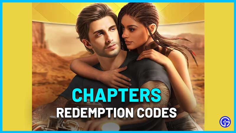 Chapters Redemption Codes Wiki