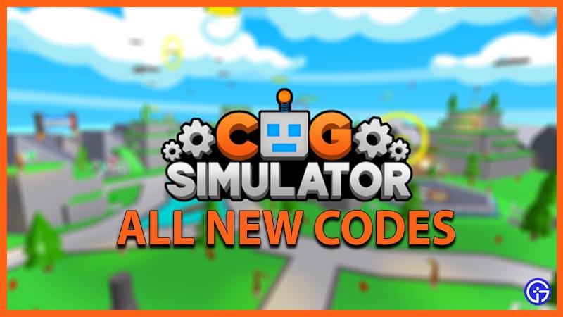 Cog Simulator Codes