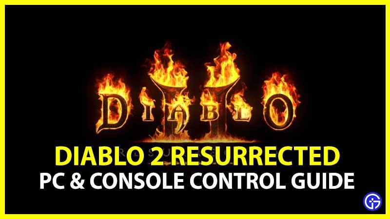 Diablo 2 Resurrected Control Ps4 Console Pc Xbox
