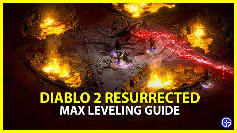 Diablo 2 Resurrected Leveling Guide