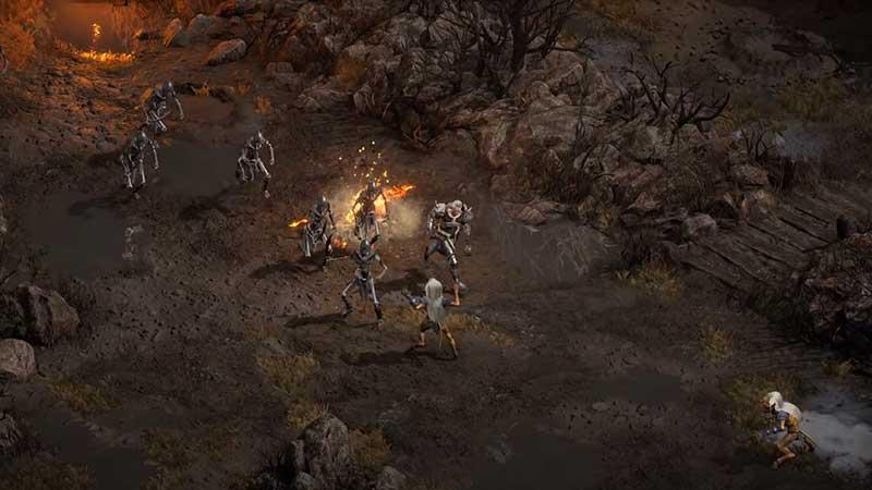 Diablo 2 Resurrected map glitch Fix