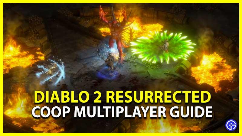 Diablo 2 Resurrected Mutiplayer Coop Crossplay Cross Platform