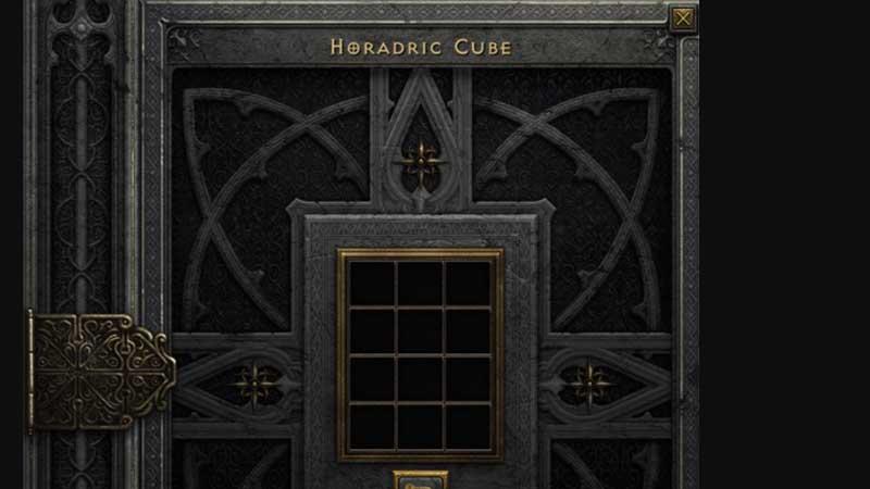 Diablo 2 Resurrected inventory management horadric cube