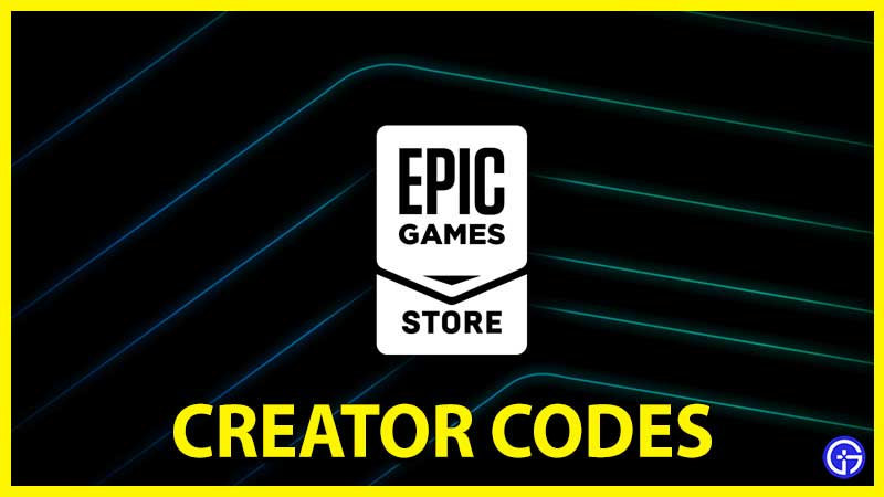Epic Games Creator Code