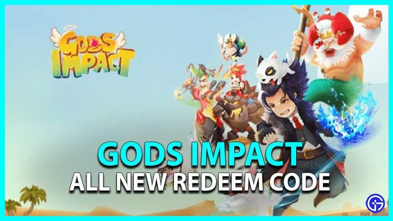 Gods Impact Redeem Code Gift