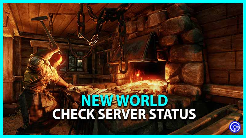 How To Check New World Server Status Time Queue