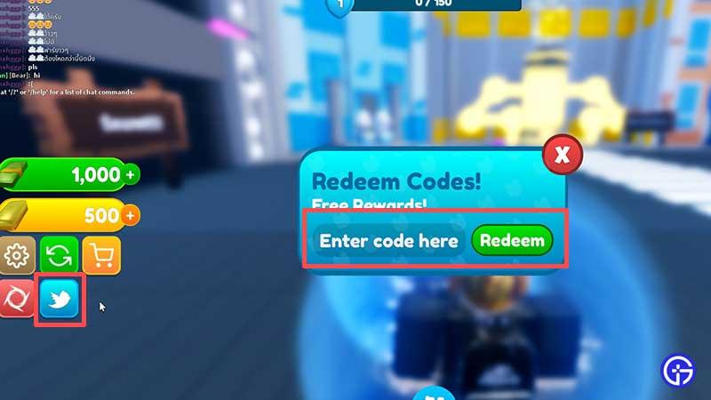 how to redeem Roblox Pet Legends Codes