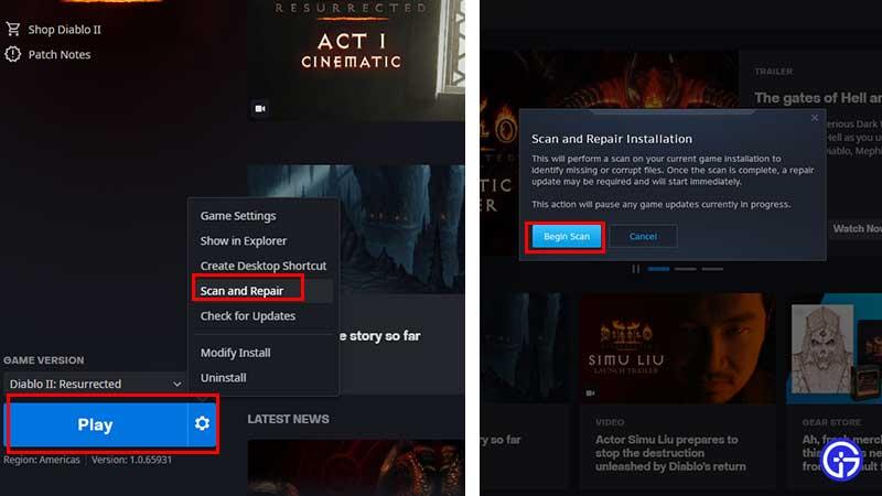 How to Fix Failed to Authenticate Error in Diablo 2 Resurrected