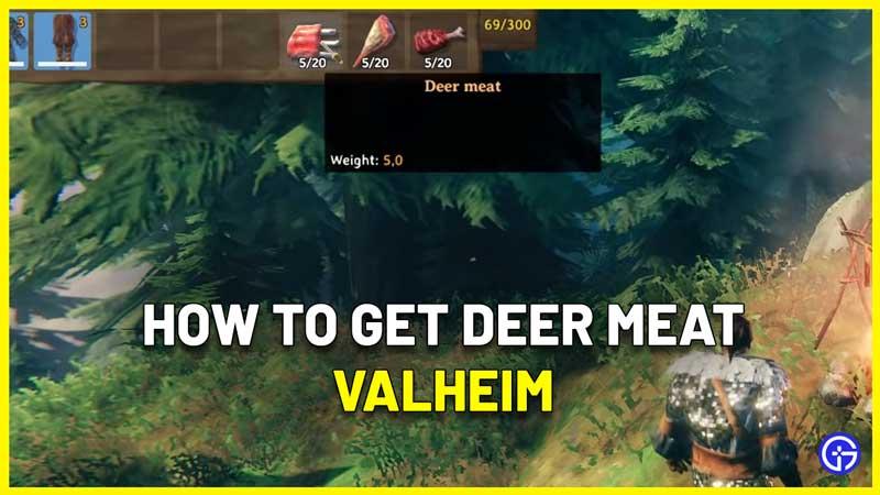 How to Get Deer Meat in Valheim