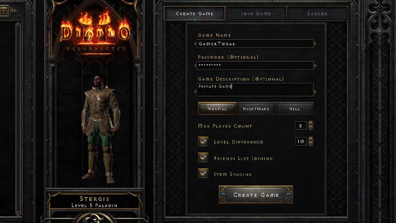 How to Invite & Add friends in Diablo 2 Resurrected and Play Multiplayer