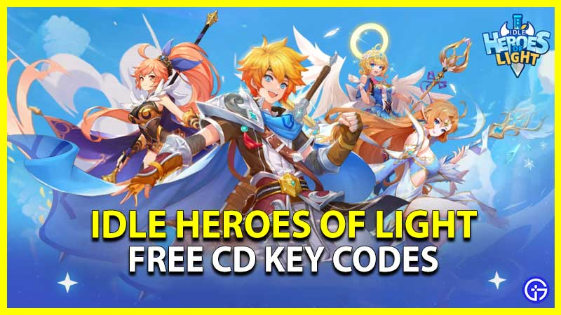 Idle Heroes of Light Codes