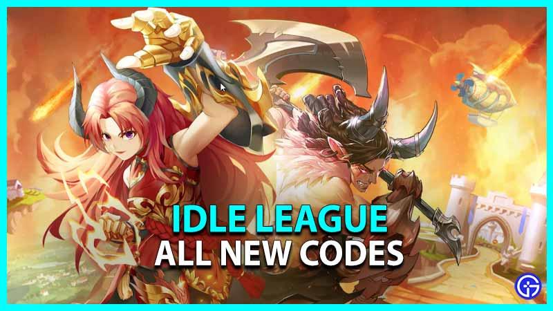 Idle League Codes