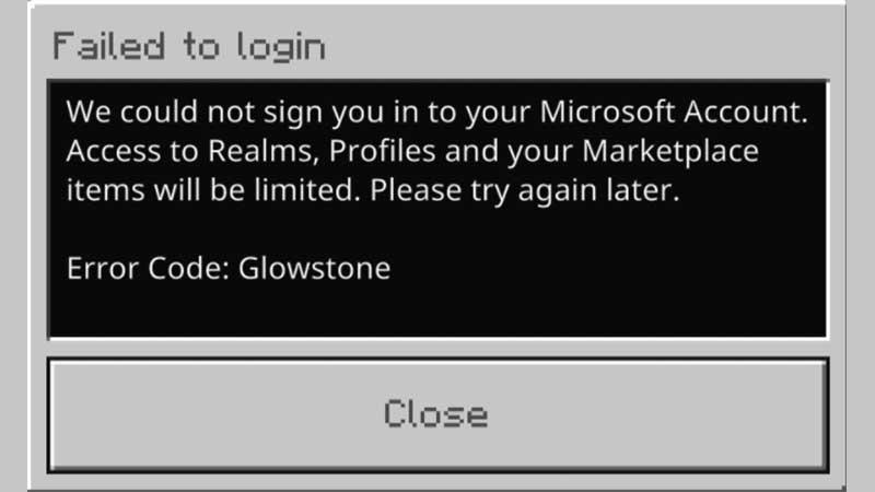 Minecraft Error Code Glowstone Fix