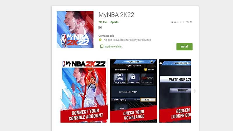 NBA 2K22 Face Scan