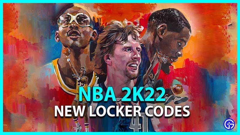 NBA 2k22 Locker Codes